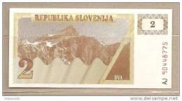 Slovenia - Banconota Non Circolata Da 2 Talleri - Slovenia