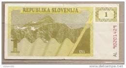 Slovenia - Banconota Circolata Da 1 Tallero - Slovenia