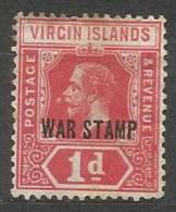 Virgin Island   -    N.46/*   -1916 - British Virgin Islands