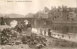 Bouillon Les Bords De La Semois (corvée De Bois) N°7 Laflotte Brux. - Bouillon