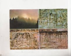 BT11107 Borobudur Stupes And Reliefs      2 Scans - Indonesien