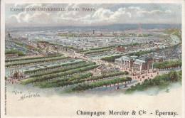 7138 - Paris Exposition Universelle 1900 Publicité Champagne Mercier - Expositions