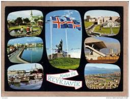 ISLANDE - REYKJAVIK - CPM - LOT DE 2 CARTES - N° 174 Et 107 - Multi Vues Et Vue - éditeur EDDA FOTO ? - Islanda