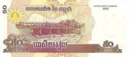 CAMBODIA 50 Riels 2002 *UNC* - Cambodia