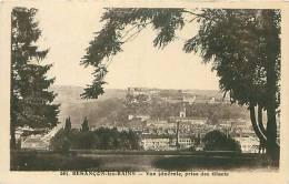 25 - BESANCON-les-BAINS - Vue Générale, Prise Des Glacis (Ed. C.L.B., 265) - Besancon