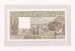 500 FRANCS - West-Afrikaanse Staten