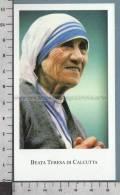 Xsb606 BEATA TERESA DI CALCUTTA Num. 13 - Religione & Esoterismo