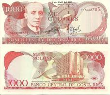 Costa Rica P264d, 1000 Colones, Bldg, 2003 $15CV! - Costa Rica