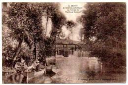 91 - Essonne / BRUNOY -- Les Vannes Du Moulin De Rochops. - Brunoy