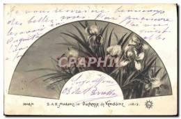 CPA S A R Madame La Duchesse De Vendome Iris Fleurs - Fleurs, Plantes & Arbres