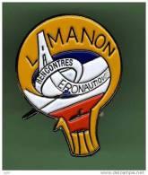 MONTGOLFIERE *** LAMANON RECONTRES AERONAUTIQUES *** (063) - Montgolfières