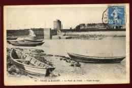 Cpa  Du  35  Vildé La Marine Le Pont De Vildé   Vildé Bridge    PUO19 - Ohne Zuordnung