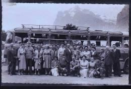 BUS EN SUISSE 1956 CP PHOTO - Autobus & Pullman