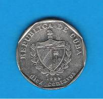 CUBA - 10 Centavos  1994  KM576 - Cuba