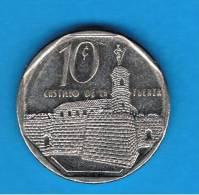 CUBA - 10 Centavos  1999  KM576 Castillo De La Fuerza - Cuba