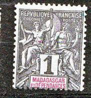MADAGASCAR  TYPE GROUPE N� 28   NEUF* TB