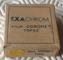 Filtre Exachrom Jaune Pour Coronet Topaz Avec Boite D'origine - Lenses