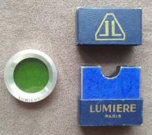 Filtre Lumiere Vert Avec Sa Boite - Lenzen