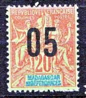 MADAGASCAR  TYPE GROUPE SURCHARGE N� 112   NEUF* TTB