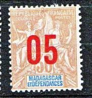MADAGASCAR  TYPE GROUPE SURCHARGE N� 113   NEUF* TTB