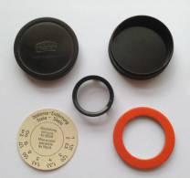 Lentille Zeiss Ikon Avec Boite D'origine - 2,5 Cm De Diamètre - RARE - Fotografia