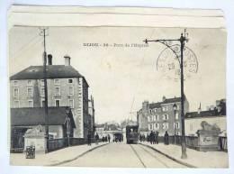 DIJON 21 - PONT DE L´HOPITAL - Carte Décollée - France