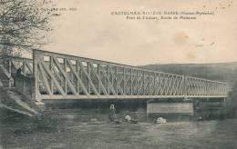 CASTELNAU RIVIERE BASSE - Pont de l'Adour, Route de Plaisance (animation lavandi�re)