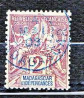 MADAGASCAR TYPE GROUPE   N� 29 OBL TTB