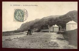 Cpa  Du  35  Cancale La Grève De Port Briac     PUO21 - Cancale