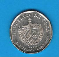CUBA - 25 Centavos  1998  KM577  Trinidad - Cuba