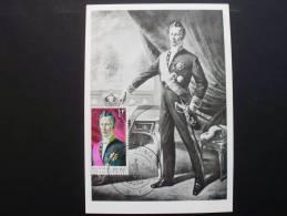 Belgien 1408 Maximumkarte MK/MC, ESST V. Geburtsort, Joseph Lebeau, Politiker (Gem. V. A. Schollaert) - Cartoline Maximum