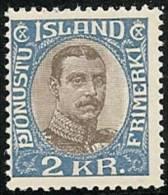 ISLANDIA 1920/30 - Yvert #40 (Servicio) - MNH ** - 1918-1944 Administración Autónoma