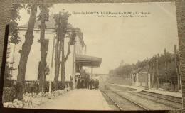 Gare De Pontailler Sur Saone - La Sortie - France