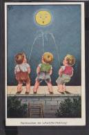 C23  /    Kinder /  Nachtmanöver Der Luftschiffer Abteilung - Disegni Infantili