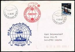 ARCTIC, GERMANY, 125 Jahre Polarforschung, KOLDEWEY-Station über Ny-Älesund 12.5.1993!! - Unclassified