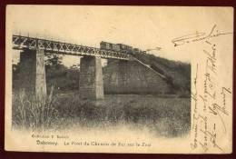 Cpa  Du  Dahomey  Le Pont Du Chemin De Fer Sur Le Zou   PUO22 - Dahomey