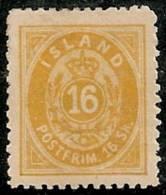 ISLANDIA 1873 - Yvert #5b - Mint No Gum (*) Dentado 12 1/2 - 1873-1918 Dependencia Danesa