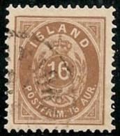 ISLANDIA 1876 - Yvert #9b (Dentado 12 1/2) - VFU - 1873-1918 Dependencia Danesa