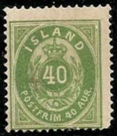 ISLANDIA 1876 - Yvert #11 - MLH * - 1873-1918 Dependencia Danesa