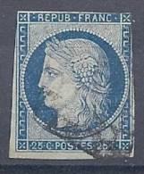 130202978  FRANCIA  YVERT    Nº  4  (CAT  45€) - 1849-1850 Ceres