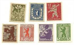 1945 - Zona Sovietica 1A/7A Berlino, - Zone Soviétique