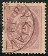 ISLANDIA 1882 - Yvert #15a (Dentado 14) - VFU - Oblitérés
