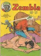 Zembla N° 115 - Editions LUG à Lyon - Septembre 1970 - Avec Aussi Gun Gallon Et Dick Demon - BE - Zembla