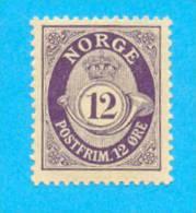 NORGE NORVEGE  / MNH** / AD 108 - Norvège