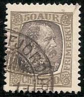ISLANDIA 1902/04 - Yvert #43 - VFU - 1873-1918 Dependencia Danesa