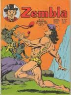Zembla N° 111 - Editions LUG à Lyon - Juillet 1970 - Avec Aussi Gun Gallon Et Dick Demon - BE - Zembla