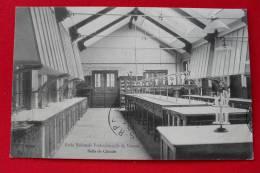 18 - VIERZON - École Nationale Professionnelle De VIERZON - Salle De Chimie - 1914 - Lustre Lampe - Vierzon