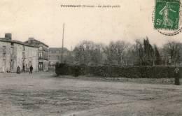 VOUZAILLES - Le Jardin Public  - 1913 - - Francia