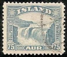 ISLANDIA 1931/32 - Yvert #144 - VFU - Usados
