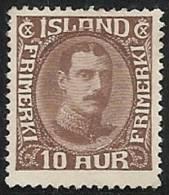 ISLANDIA 1931/34 - Yvert #148 - MLH * - 1918-1944 Administración Autónoma